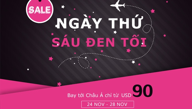 Black Friday chỉ từ 90 USD cùng China Southern Airlines